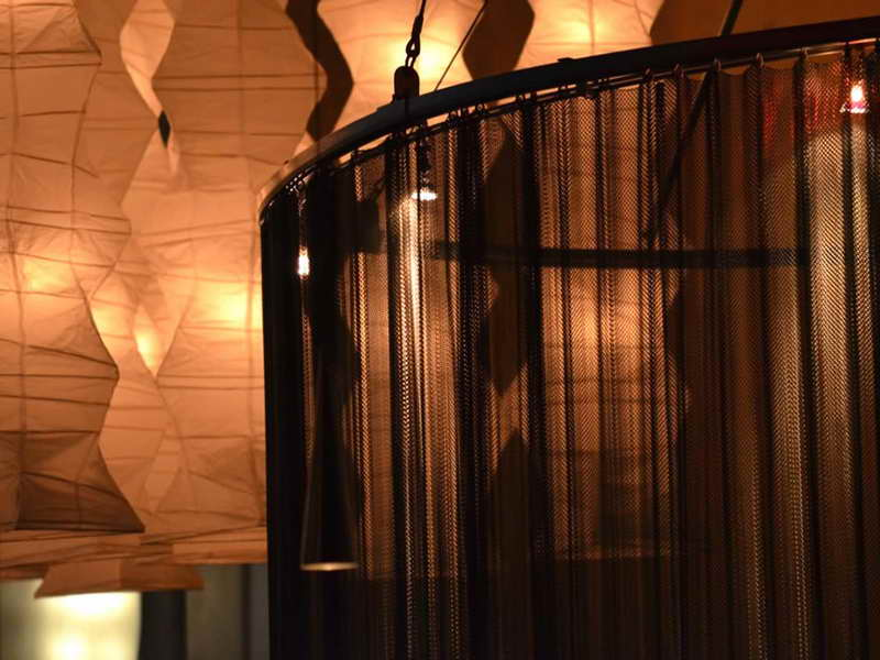hanging room dividers photo - 9