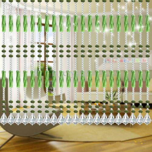 hanging room dividers beads photo - 6