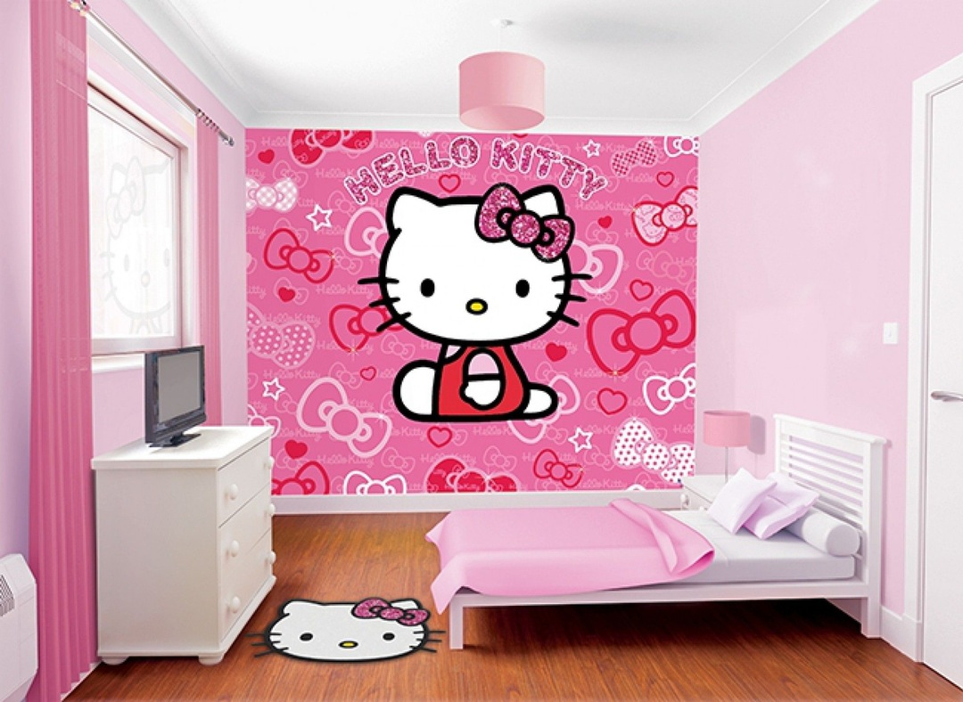 hello kitty bedroom furniture for kids photo - 10