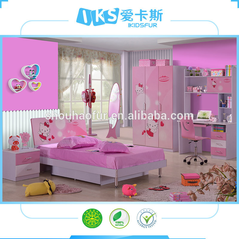 hello kitty bedroom furniture for kids photo - 6