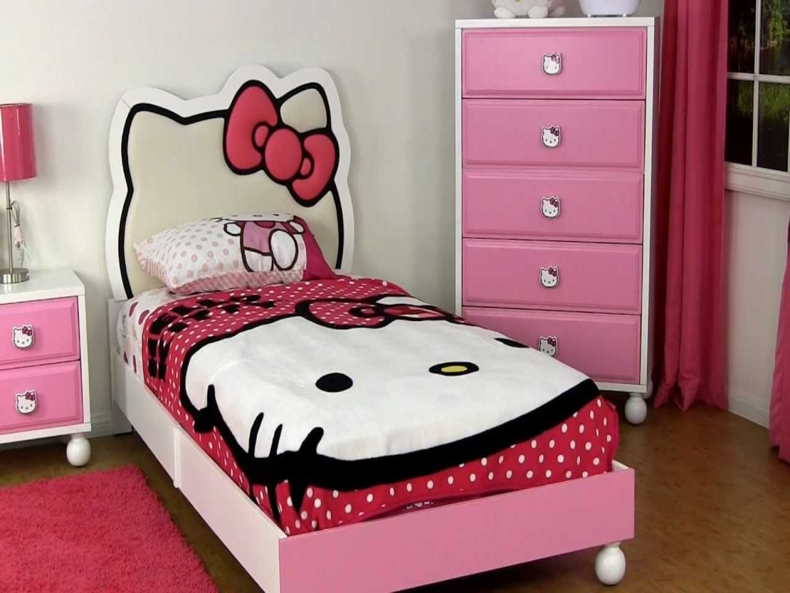 hello kitty bedroom furniture for kids photo - 9