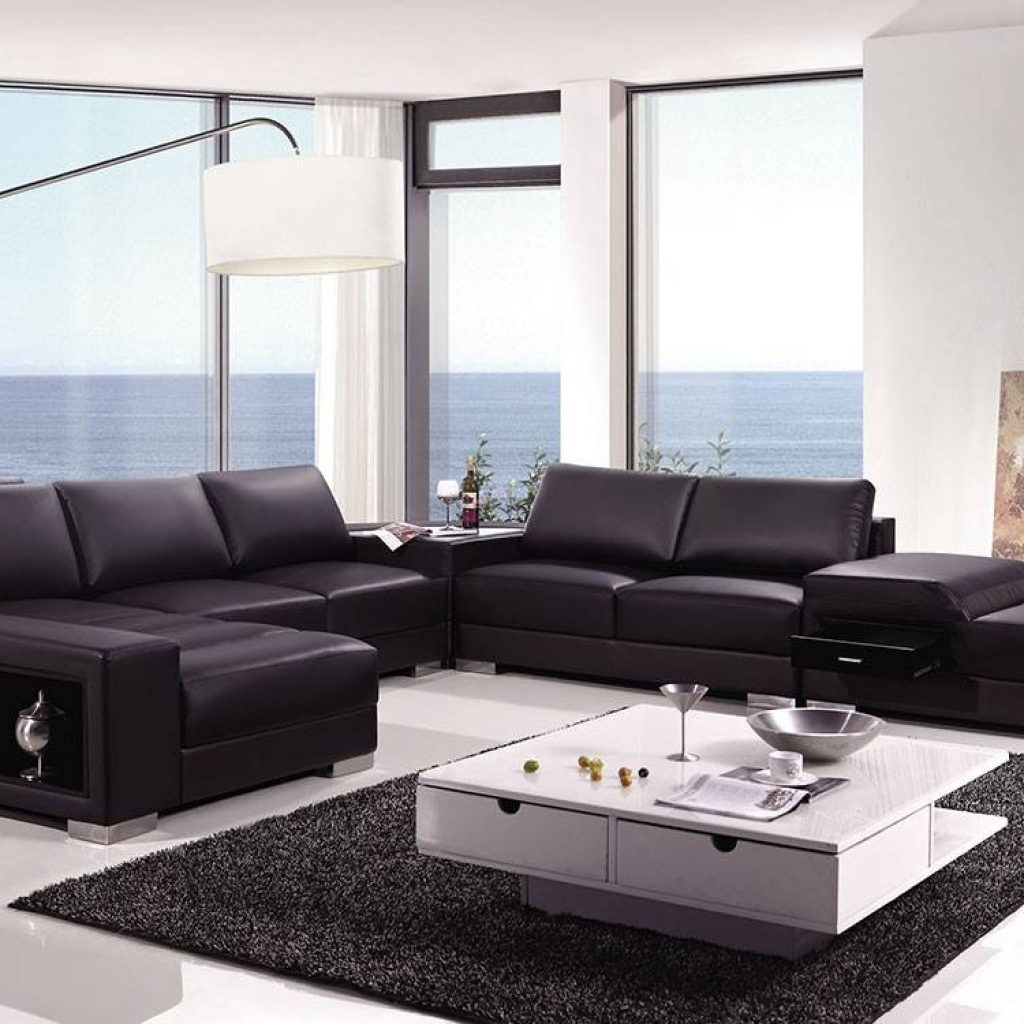 high end leather sectional sofas photo - 10