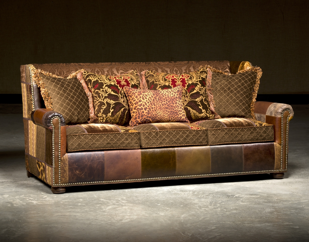 High End Leather Sectional Sofas Photo   7