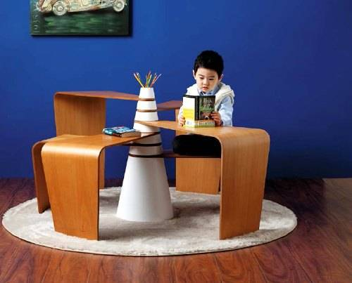 high end modern kids furniture photo - 1