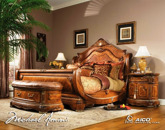 high end traditional bedroom furniture photo - 6