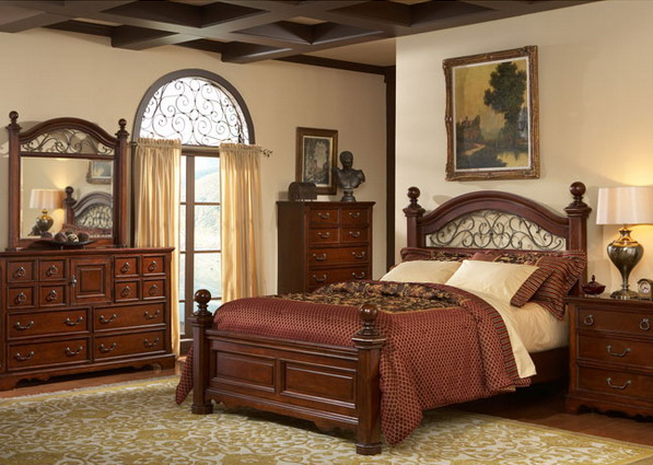 high end traditional bedroom furniture photo - 7