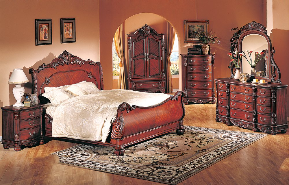 high end traditional bedroom furniture photo - 8