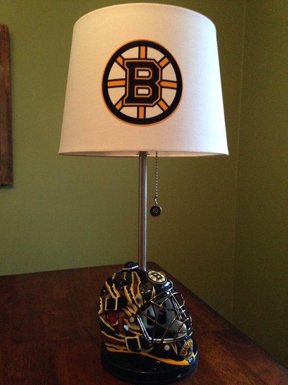 hockey bedroom lamp photo - 10