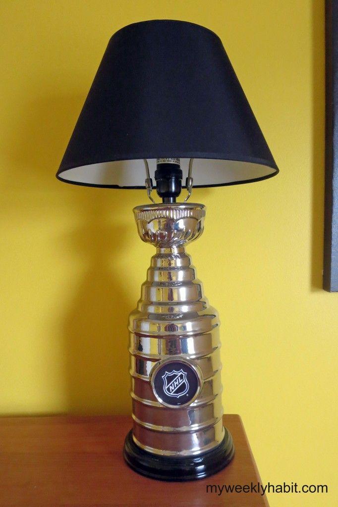 hockey bedroom lamp photo - 4