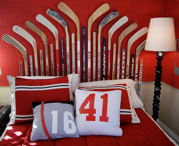 hockey bedroom lamp photo - 6