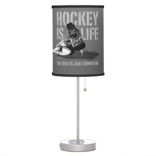 hockey bedroom lamp photo - 9