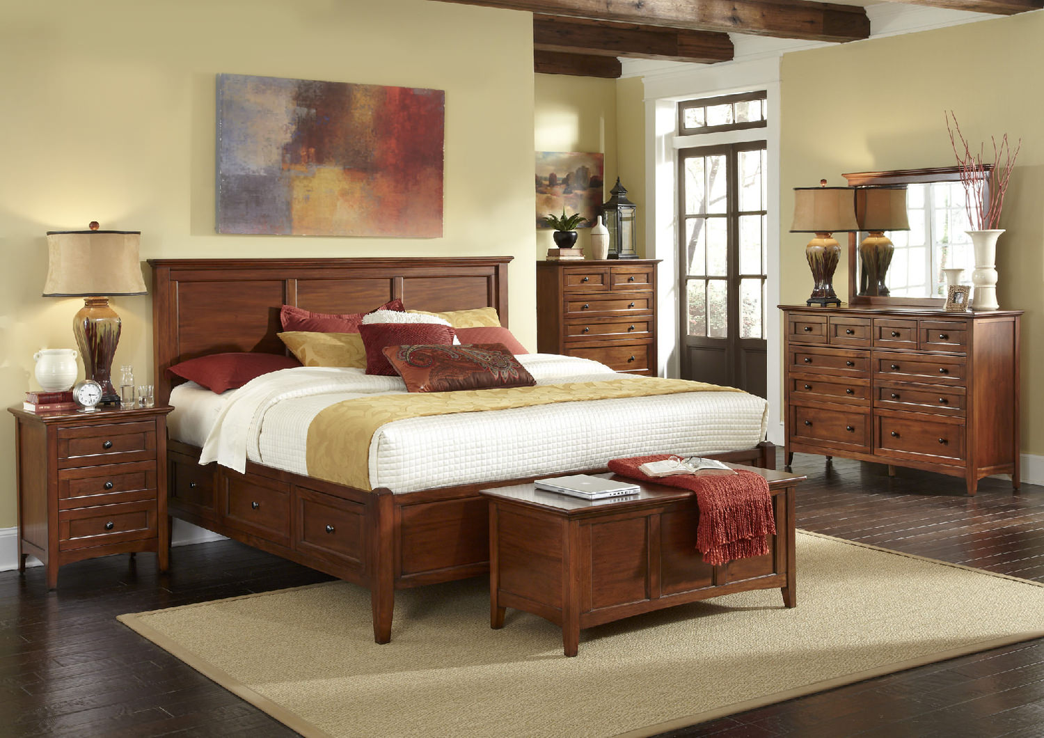 Hom Furniture Bedroom Sets Hawk Haven