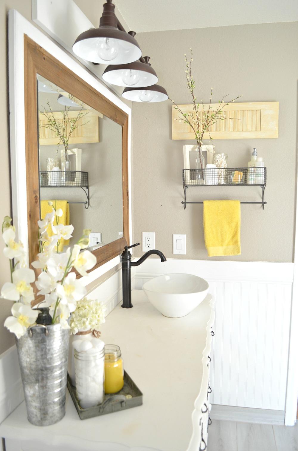 home bathroom decor photo - 10