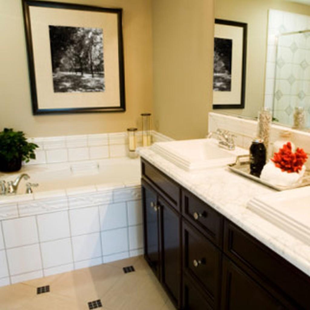 home bathroom decorating ideas photo - 1
