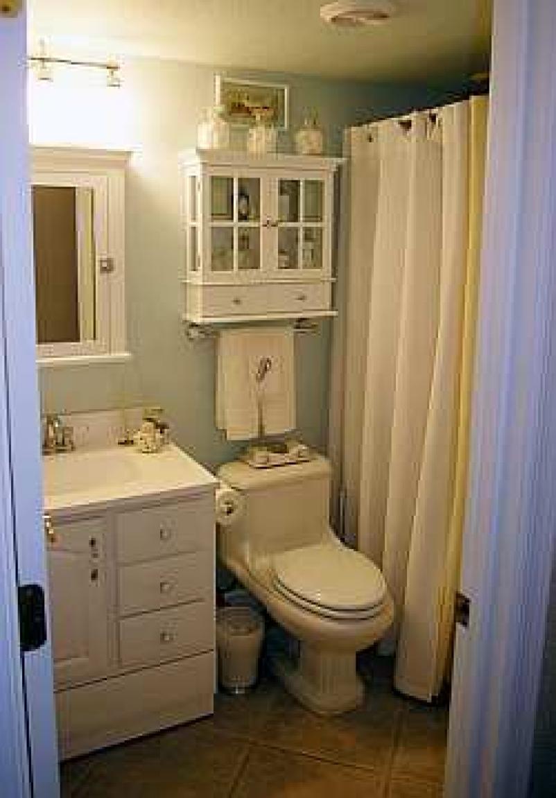 home bathroom decorating ideas photo - 2