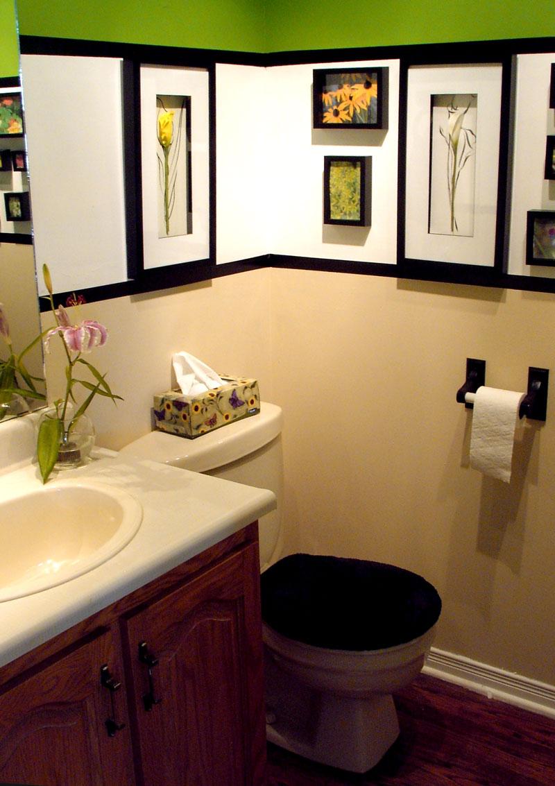 home bathroom decorating ideas photo - 9