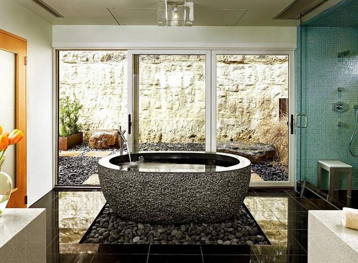 home bathroom spa ideas photo - 4