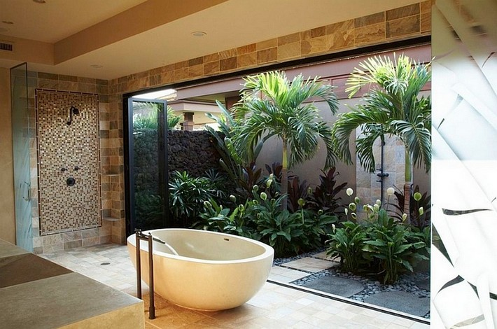 home bathroom spa ideas photo - 8