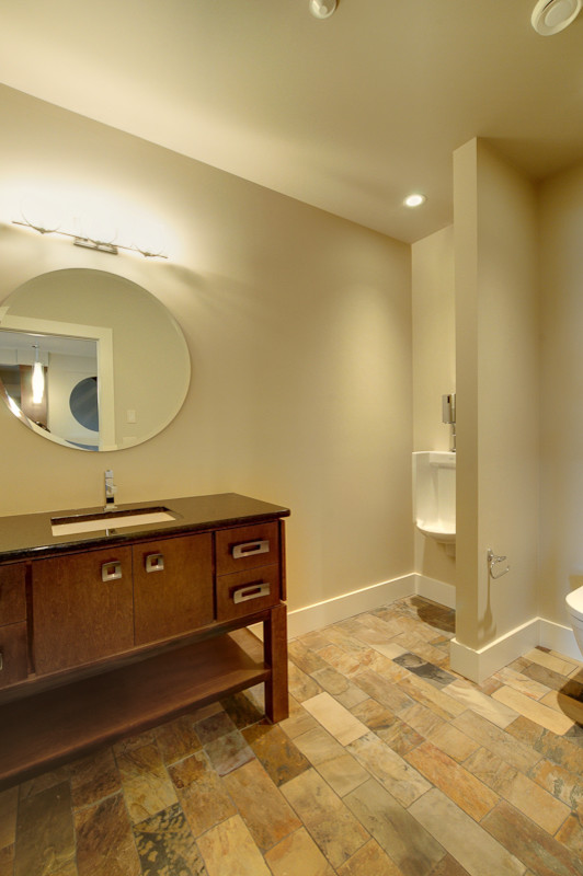 home bathrooms with urinals photo - 7