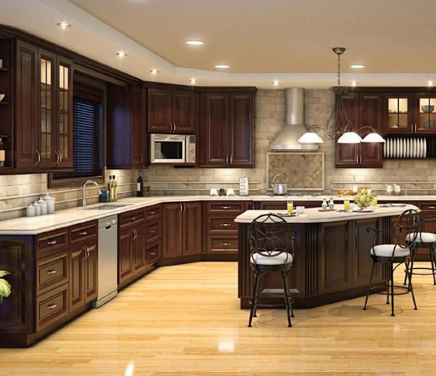home depot kitchen design ideas photo - 1