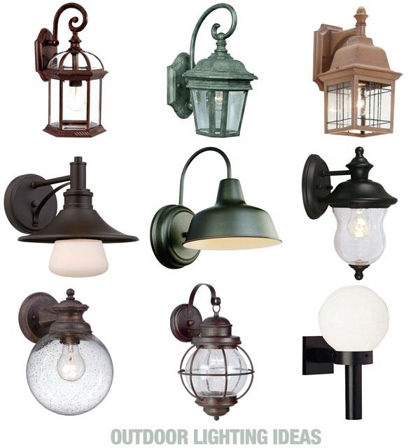 home depot outdoor wall lighting fixtures photo - 3