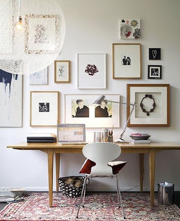 home office wall decor photo - 6