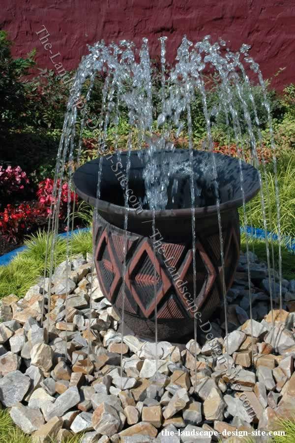 homemade garden fountain ideas photo - 10