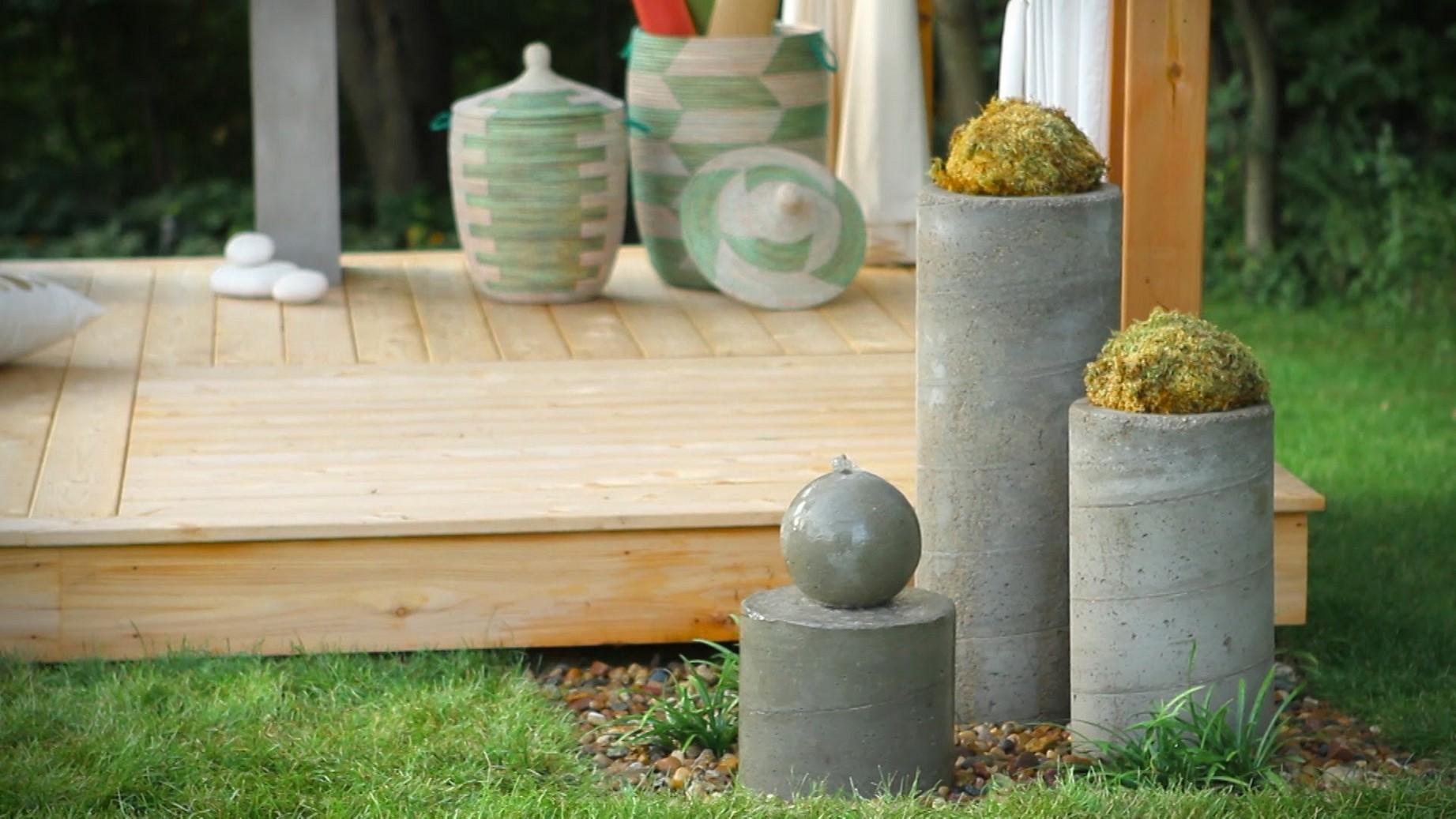 homemade garden fountain ideas photo - 9