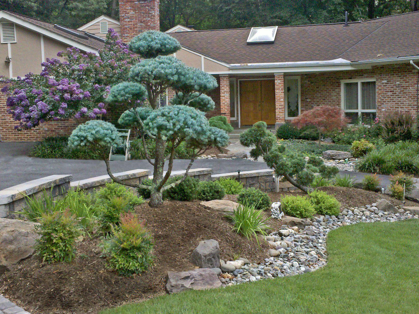 house entrance garden ideas photo - 1
