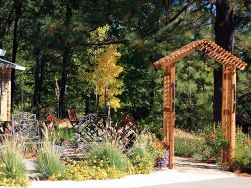 house entrance garden ideas photo - 3