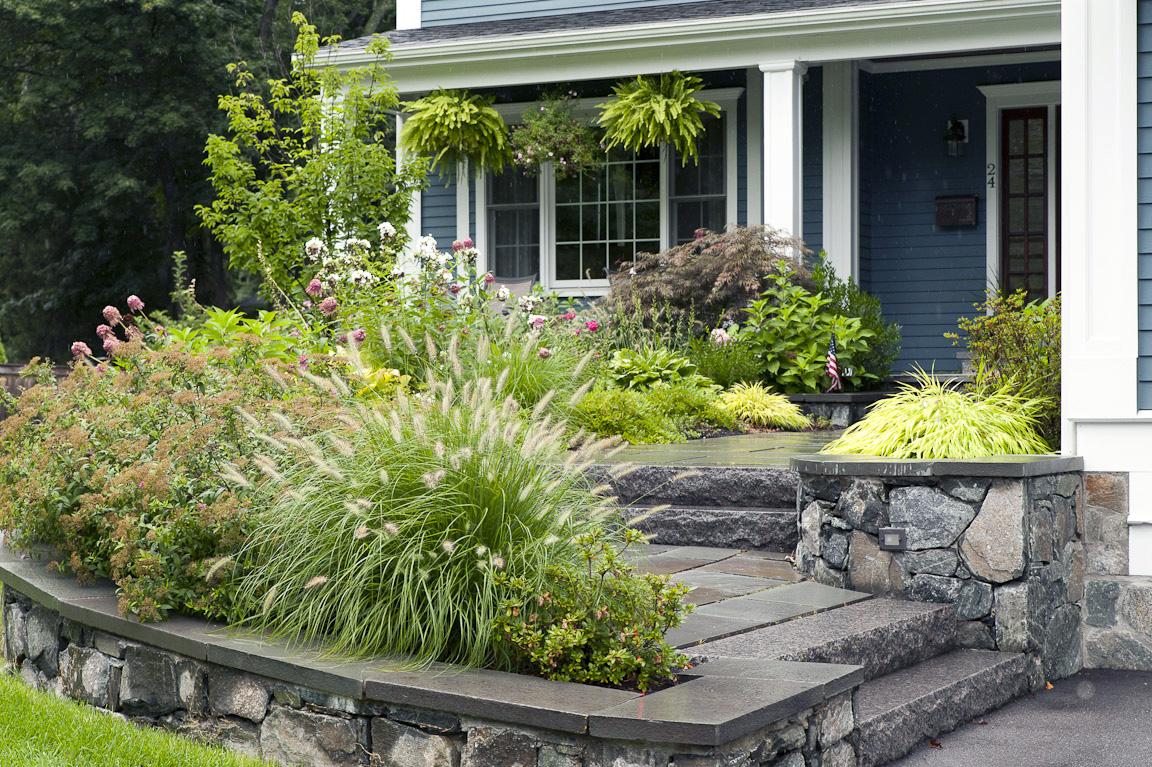 house entrance garden ideas photo - 8