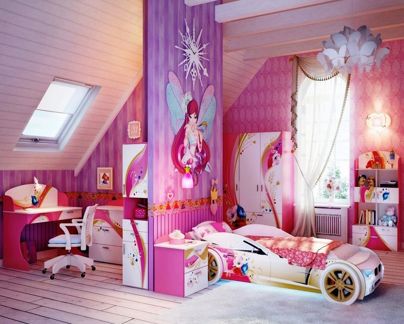 ideas for a little girl room photo - 7