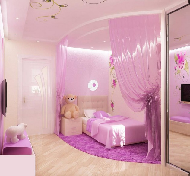 ideas for a little girl room photo - 8