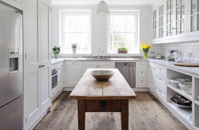 ideas for u shaped kitchen photo - 5