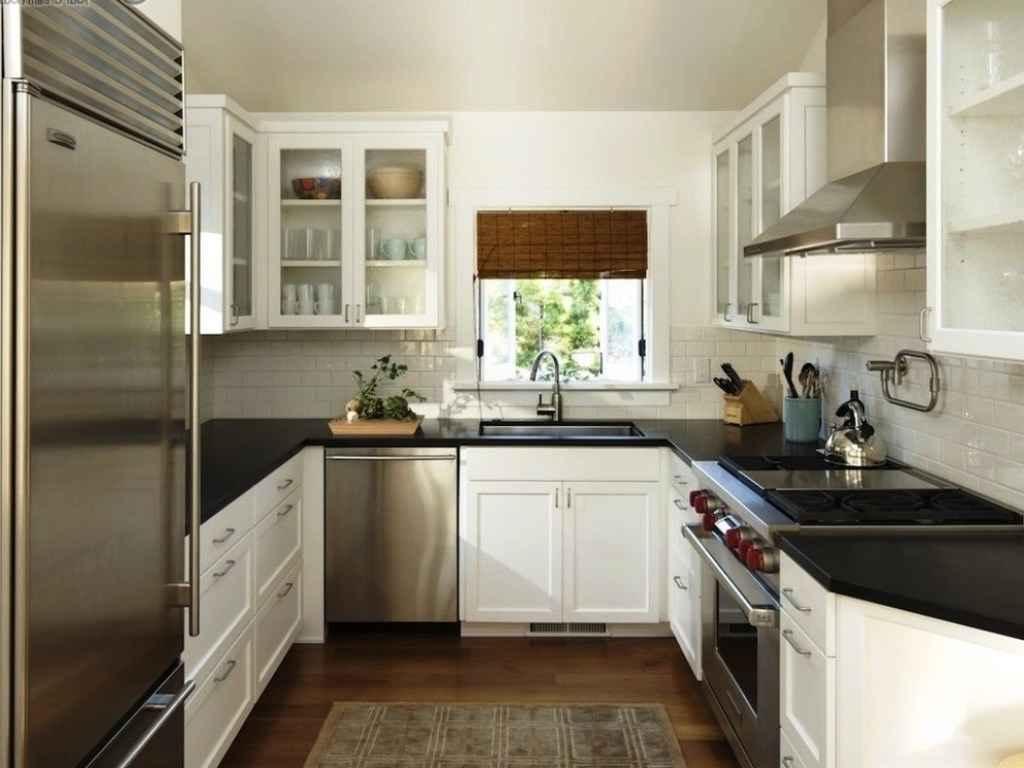 ideas for u shaped kitchen photo - 7
