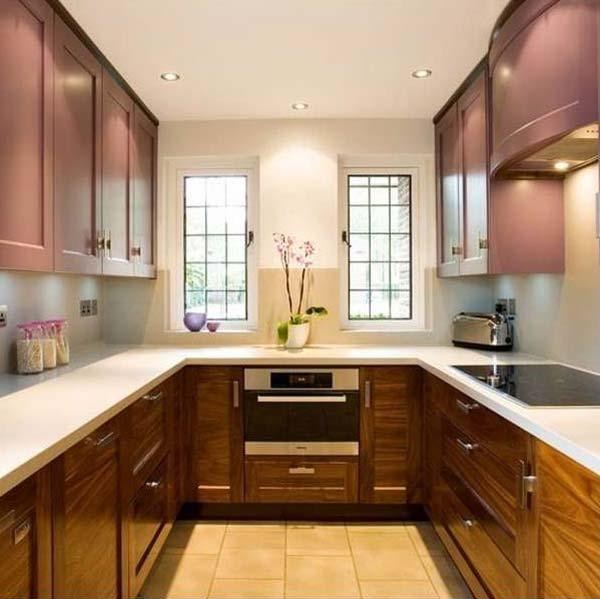 ideas for u shaped kitchen photo - 8