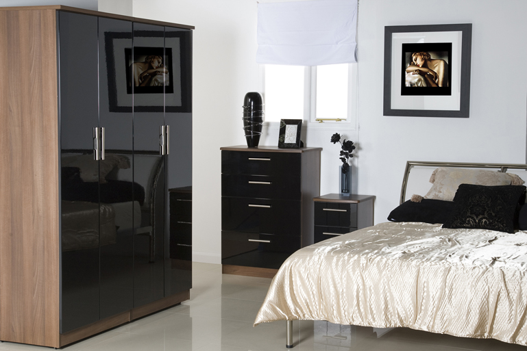 Ikea high gloss bedroom furniture | Hawk Haven