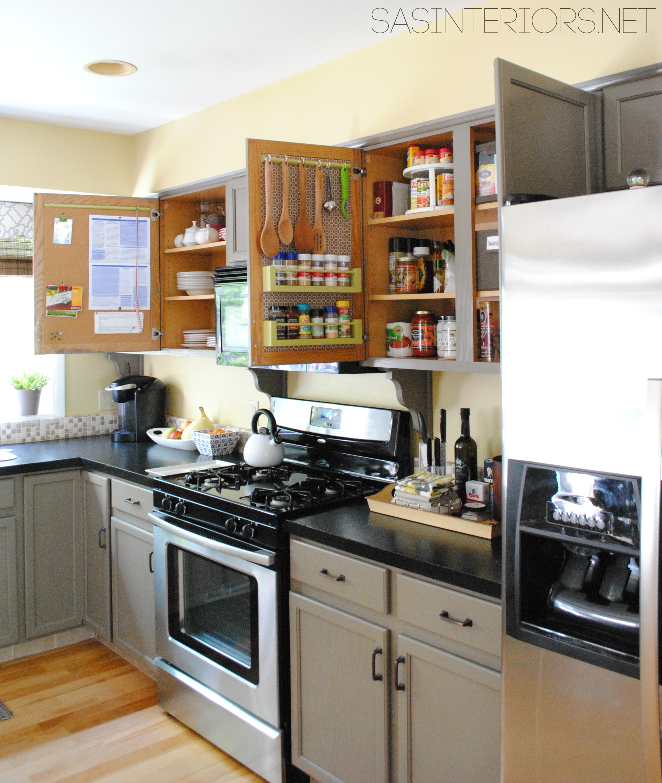 Inside Kitchen Cabinets Ideas Photo 1
