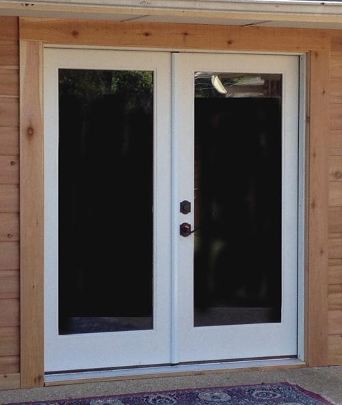 install french doors exterior wall photo - 2