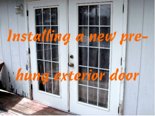 Install French Doors Exterior Wall Hawk Haven