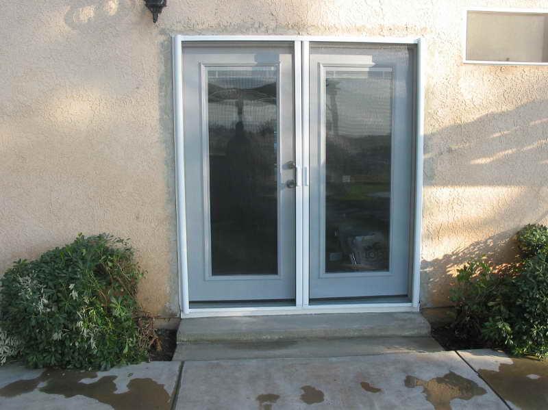 install french doors exterior wall photo - 5