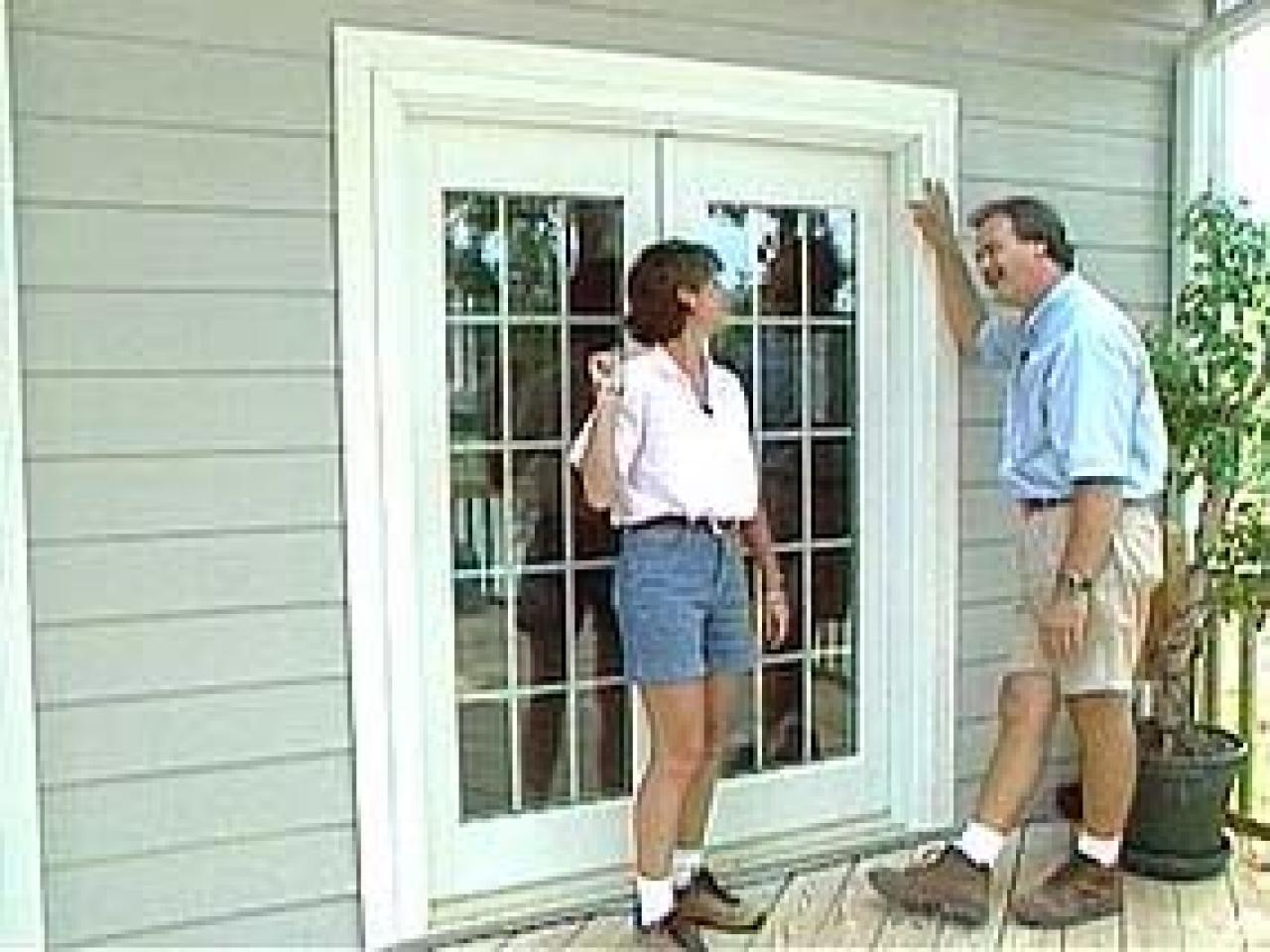 install french doors exterior wall photo - 6