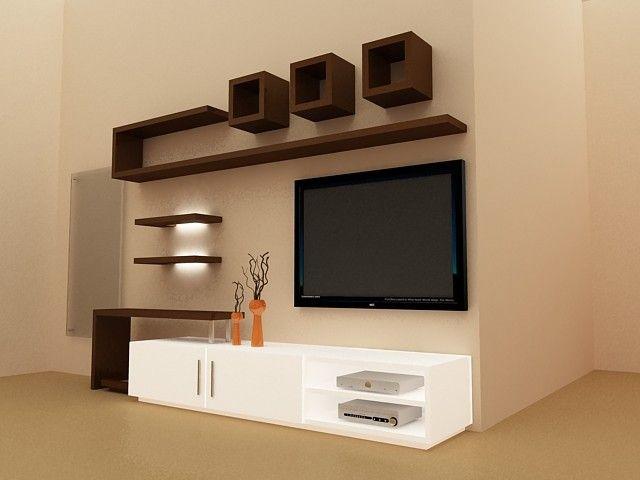 interior design ideas tv unit photo - 5