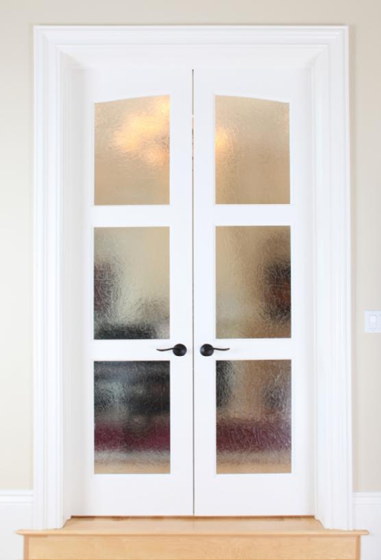 interior french doors bedroom photo - 10