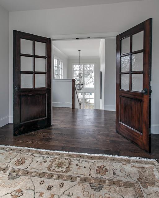 interior french doors bedroom photo - 3
