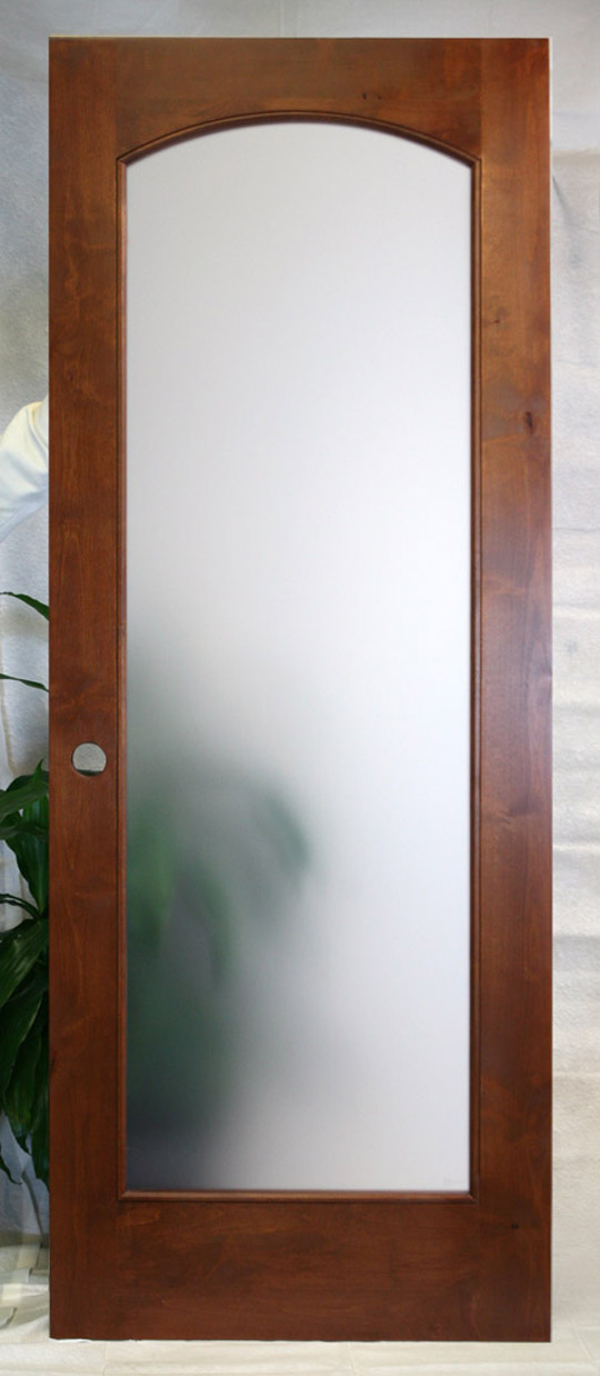 interior french doors frosted glass photo - 2