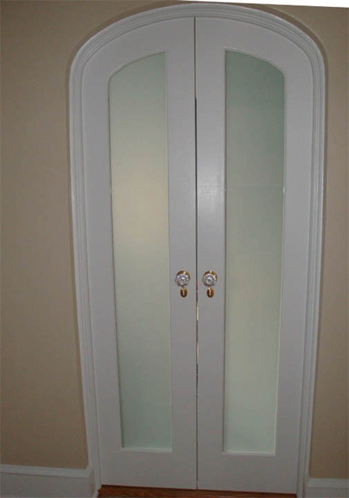 interior french doors frosted glass photo - 7