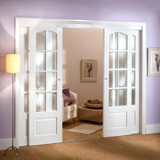 interior french doors internal blinds photo - 10