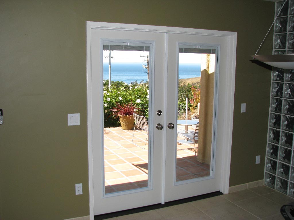 Interior French Doors Internal Blinds Photo   2
