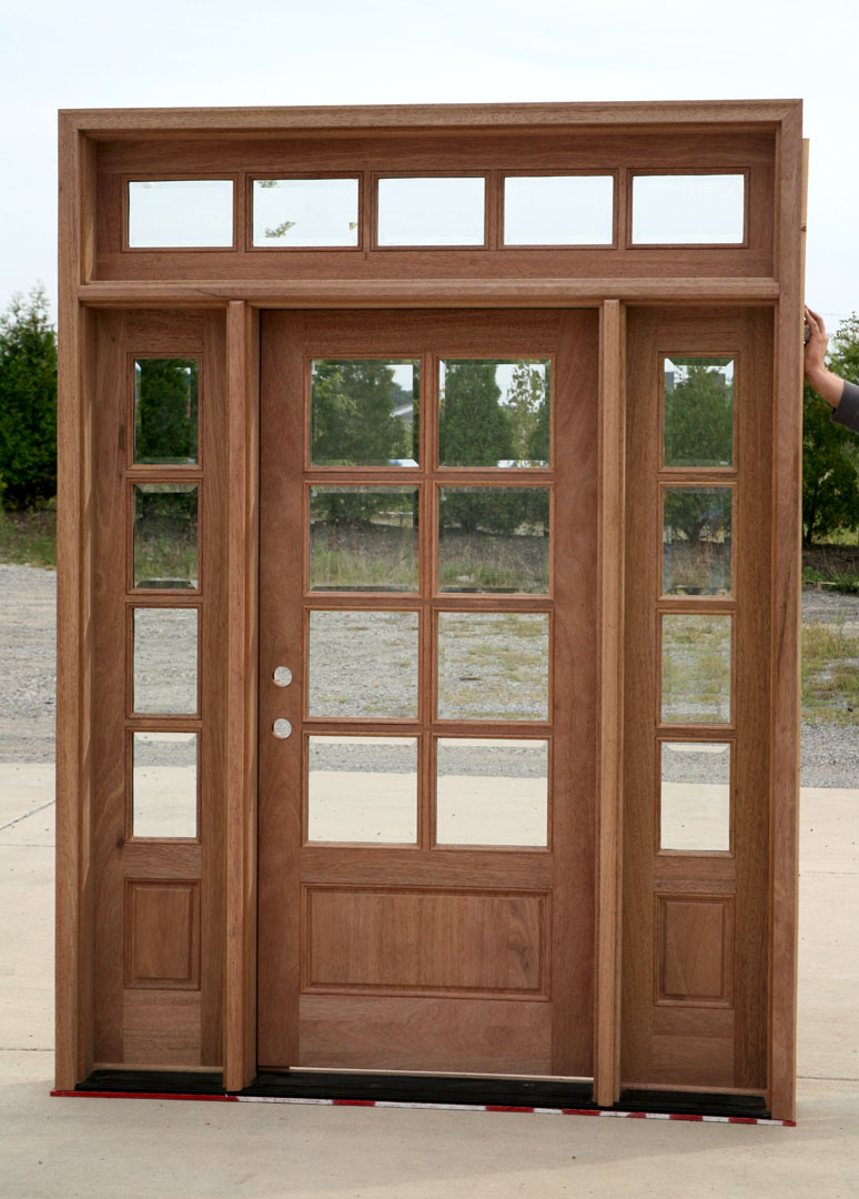 interior french doors sidelights photo - 1